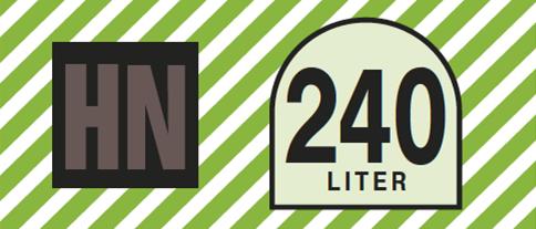 Banderole 240-Liter-Restmülltonne