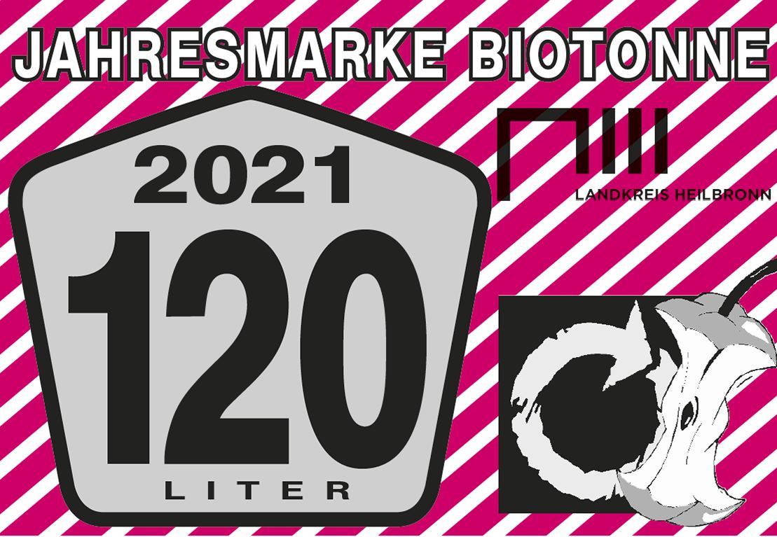 Jahresmarke 120-Liter-Biotonne