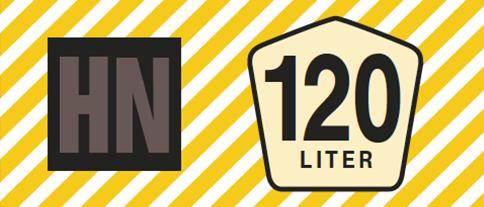 Banderole 120-Liter-Restmülltonne